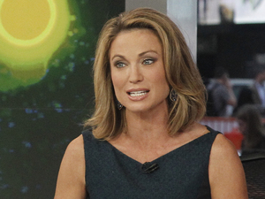 Amy Robach hosting 'Good Morning America'