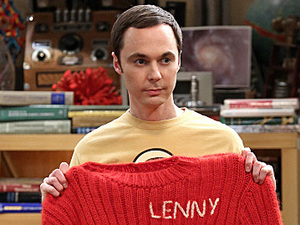 Jim Parsons as Sheldon in The Big Bang Theory: 'The Itchy Brain Simluation'