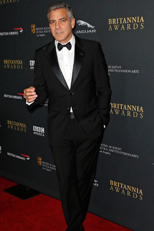 BAFTA Britannia Awards, Los Angeles, America - 09 Nov 2013 George Clooney