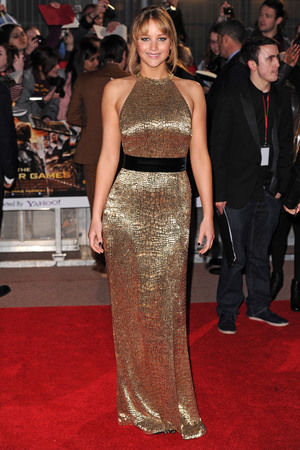 'The Hunger Games' film premiere, London, Britain - 14 Mar 2012 Jennifer Lawrence 14 Mar 2012