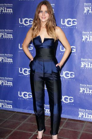 Outstanding Performer Award, Santa Barbara International Film Festival, America - 02 Feb 2013 Jennifer Lawrence
