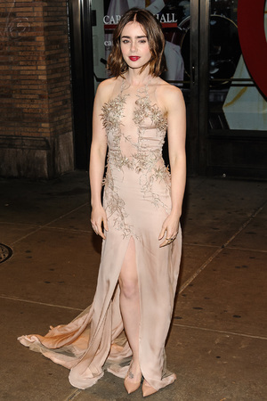 Lily Collins Glamour Women of the Year Awards, New York, America - 11 Nov 2013