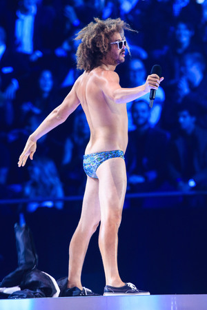 Redfoo 20th MTV Europe Music Awards held at Ziggo Dome - Performance