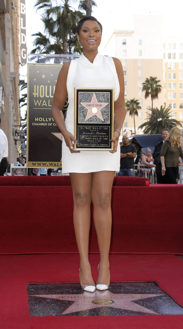 Jennifer Hudson receives star on the Hollywood Walk of Fame