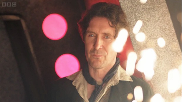 Paul McGann returns as the eighth Doctor