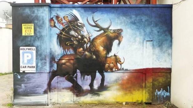 EndoftheLine Slaine mural