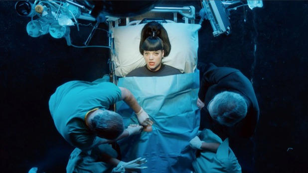 Lily Allen new video still.