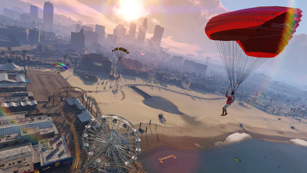 Grand Theft Auto Online 'Beach Bums' screenshot