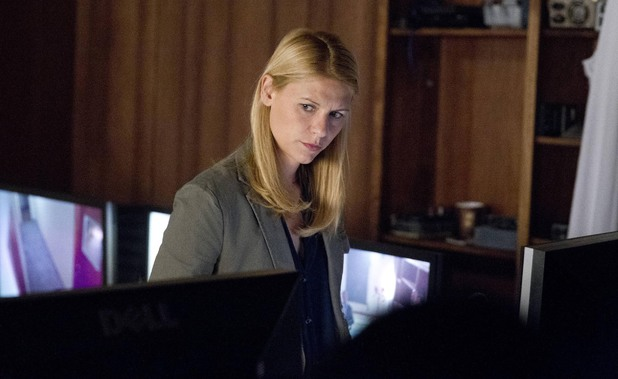 Claire Danes as Carrie Mathison in Homeland episode 7: 'Gerontion'