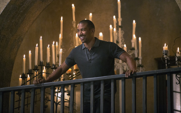 Charles Michael Davis as Marcel in The Originals episode 7: 'Bloodletting'