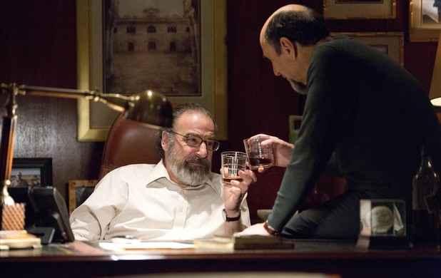 Mandy Patinkin as Saul Berenson and F. Murray Abraham as Dar Adal in Homeland episode 7: 'Gerontion'