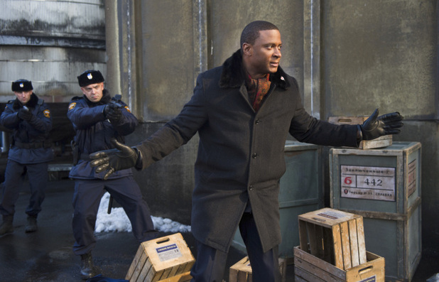 David Ramsey as John Diggle in Arrow S02E06: 'Keep Your Enemies Closer'