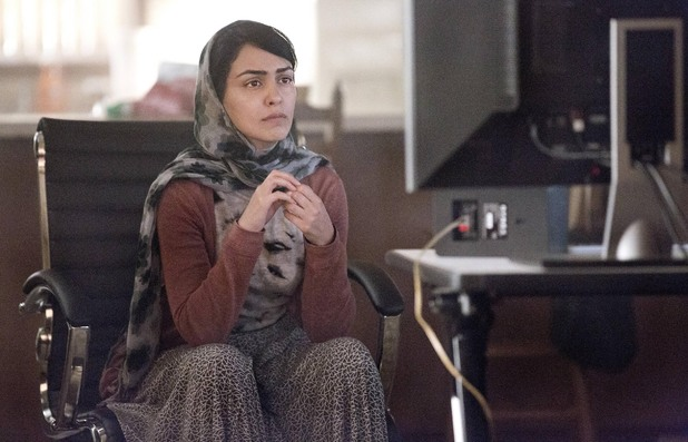 Nazanin Boniadi as Fara in Homeland episode 7: 'Gerontion'