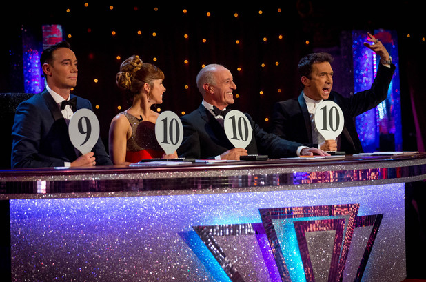 The judges score high