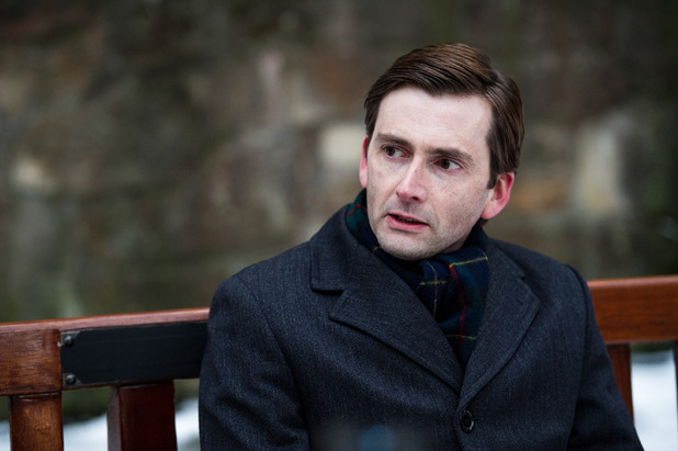 David Tennant in episode 3 of 'The Escape Artist'