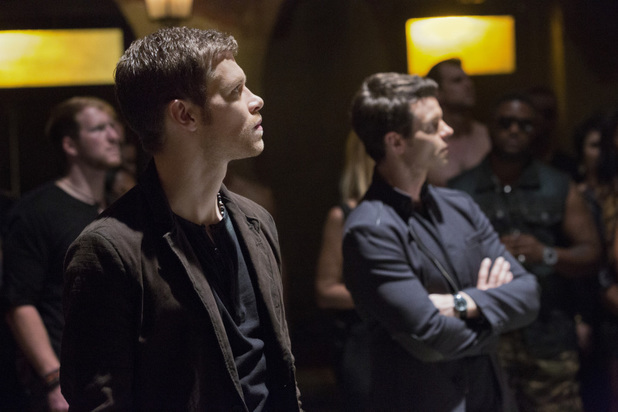 Joseph Morgan as Klaus and Daniel Gillies as Elijah in The Originals episode 7: 'Bloodletting'
