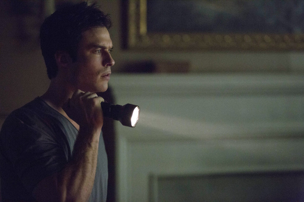 Ian Somerhalder as Damon in 'The Vampire Diaries' S05E07: 'Death and the Maiden'