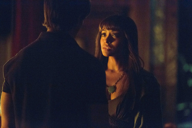Steven R. McQueen as Jeremy and Kat Graham as Bonnie in 'The Vampire Diaries' S05E07: 'Death and the Maiden'
