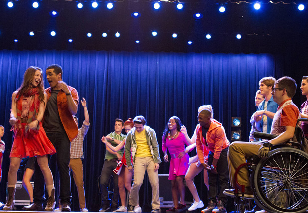 Glee S05E05 'The End of Twerk'