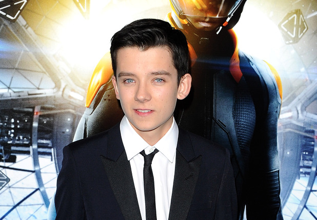 Asa Butterfield at the 'Ender's Game' film premiere, Los Angeles