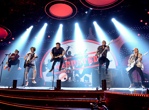 McBusted perform on Children in Need 2013