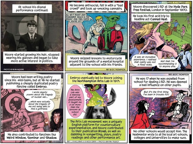 'Alan Moore: An Extraordinary Gentleman' on Sequential