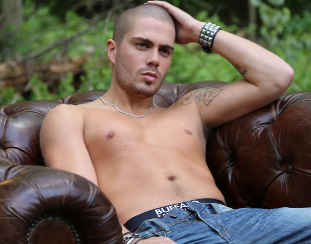 Max George poses for Buffalo David Bitton