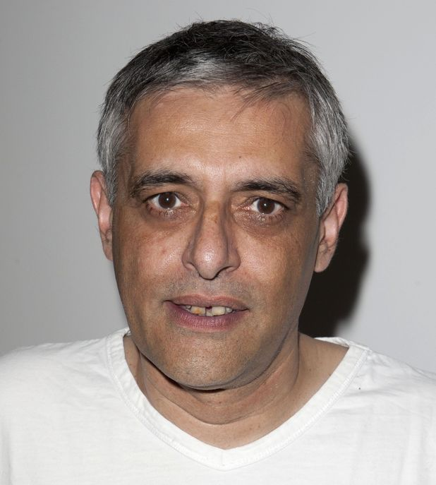 Paul Bhattacharjee at 'The Physicists' play press night after party, London