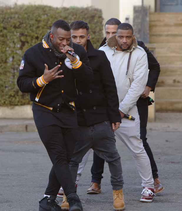 Eastenders: Children In Need dance rehearsals