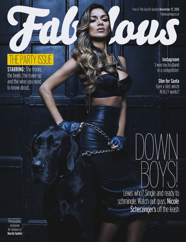 Nicole Scherzinger on 'Fabulous' magazine cover