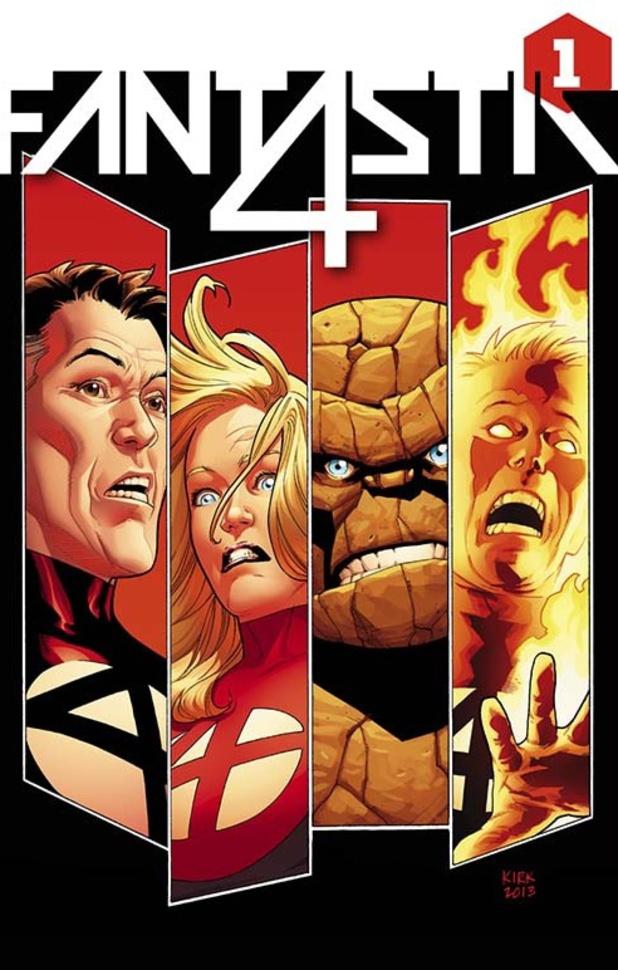 James Robinson and Leonard Kirk's 'Fantastic Four' #1