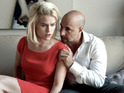The pair are unhappy lovers in Neil LaBute's new romantic drama.