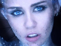 The singer appears as a glittery alien in the music video for 'Real and True'.