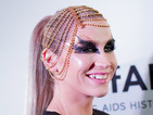 Ke$ha closes the amfAR charity gala with a showstopping performance.