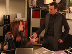 Carla screams at Peter when Simon pulls out as his best man.