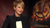 Jennifer Lawrence, Liam Hemsworth, Josh Hutcherson and director Francis Lawrence talk to Digital Spy about the final parts of The Hunger Games 'Mockingjay'