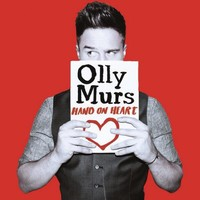 Olly Murs 'Hand On Heart' single artwork.