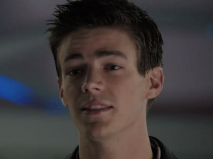 Grant Gustin as Barry Allen in 'Arrow'.