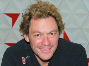 Dominic West sets off for the South Pole Allied Challenge