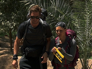 Marie and Tim in The Amazing Race: 'One Hot Camel'