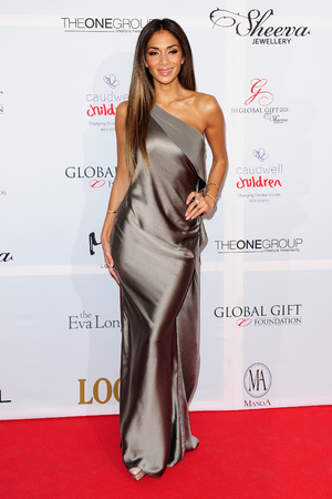 Nicole Scherzinger attending the Eva Longoria Global Gift Gala at ME London in central London.