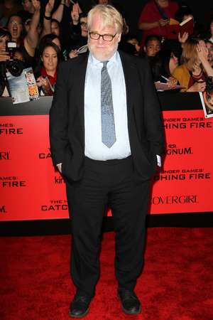Philip Seymour Hoffman 'The Hunger Games: Catching Fire' film premiere, Los Angeles, America - 18 Nov 2013
