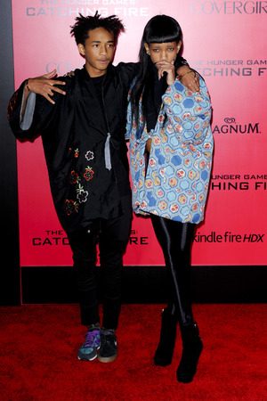 'The Hunger Games: Catching Fire' film premiere, Los Angeles, America - 18 Nov 2013 Jaden and Willow Smith