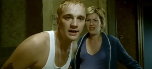 Dido and Devon Sawa in Eminem's 'Stan' video
