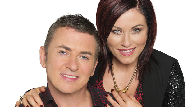 Jessie Wallace and Shane Richie as Kat and Alfie Moon in EastEnders