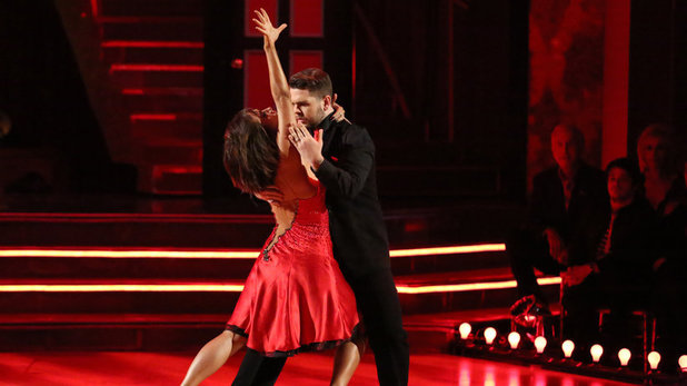 Jack Osbourne & Cheryl Burke on Dancing With The Stars week 10