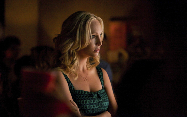 Candice Accola as Caroline in The Vampire Diaries: 'Dead Man on Campus'
