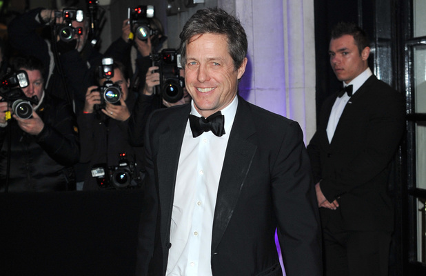 Evening Standard Theatre Awards, London, Britain - 17 Nov 2013 Hugh Grant