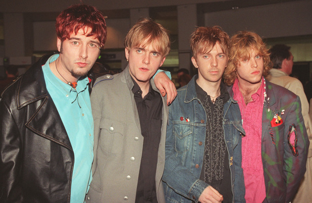 Mansun at the Brit Awards 1997