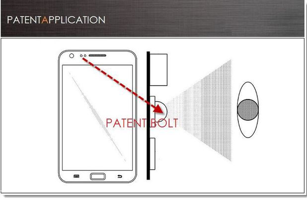 Samsung retinal-scanning patent